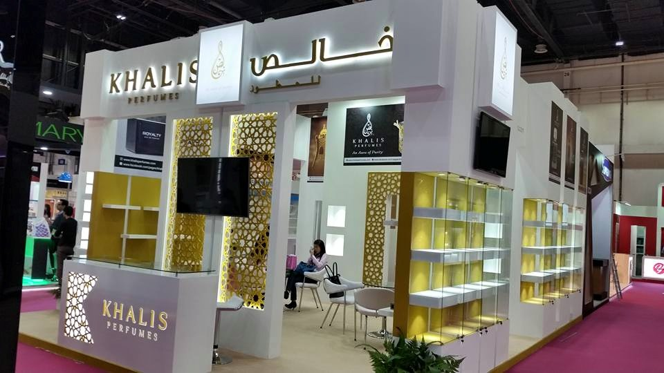 KHALIS Perfumes -Beauty world exhibition-2015,Dubai