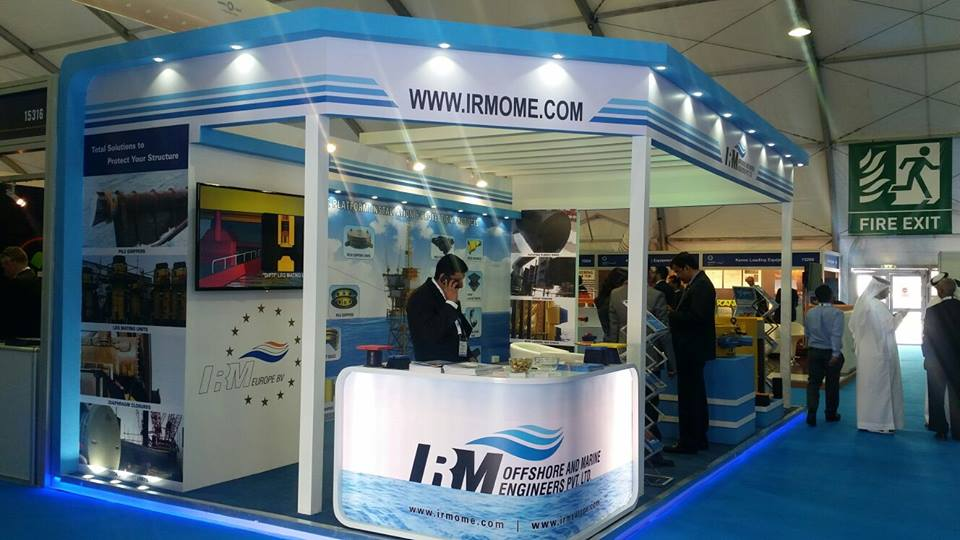 IRM Indoor, INDIA -ADIPEC Exhibition,Abu Dhabi-2015