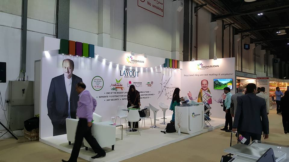 MADHSUDAN India- Indian Property show Exhibition,Dubai-2015