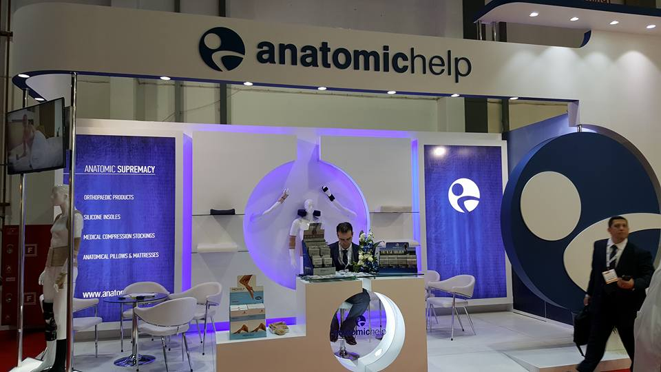Anatomic Help Greece- Arab health Exhibition, Dubai-2016