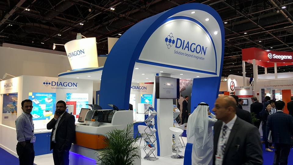 DIAGON Kft. Hungary- Arab health Exhibition, Dubai-2016