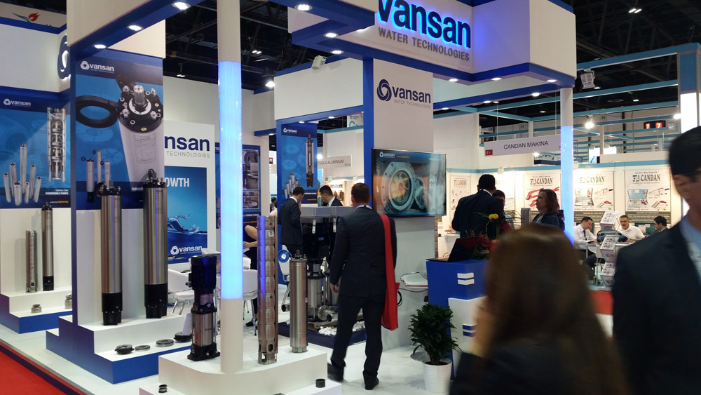 Big 5-2014,Dubai. VANSAN-Turkey