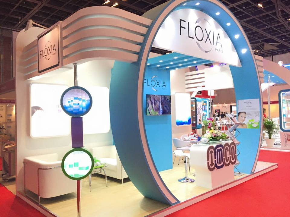 Floxia-Paris, Derma Exhibition-2015 ,Dubai